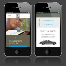 Rolls-Royce Provenance Mobile Designs